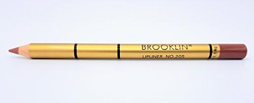 Brooklin Lipliner Bleistift Licht Kaffee 205 Wasserdicht Langlebig -
