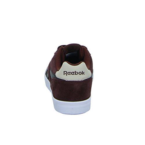Reebok Herren Royal Complete 2ls Sneaker Rot (Burnt Sienna/Black/Stucco/White/Silver)