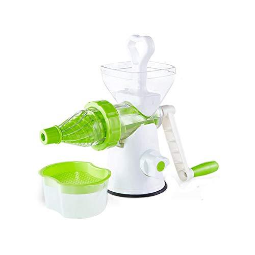 Licuadoras para Verduras y Frutas,exprimidor Manual Jarra y Limpieza Fácil con Cepillos zumos Verdes,Máquina de zumos para niños
