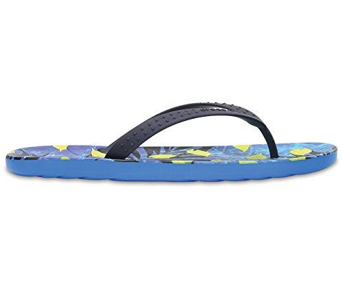 crocs Unisex-Erwachsene Chawaii Fish Zehentrenner, Blau Blau (Ozean)