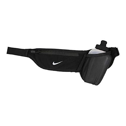 Pocket Flask Belt 10 Oz  Black/Black/Silver ml (Nike Black Belt)
