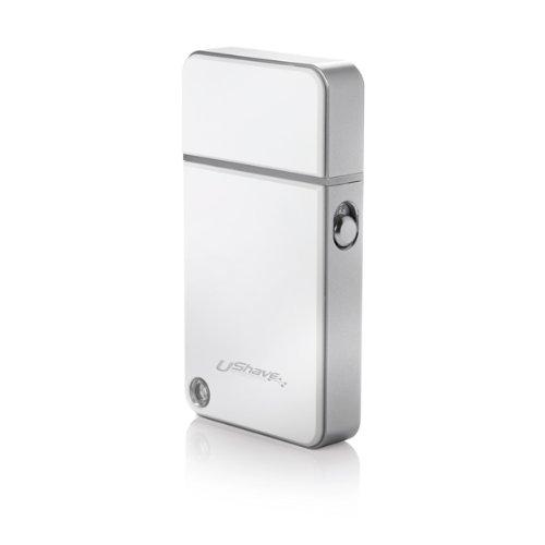Rasiersteckdose (für Laptop, USB, wiederaufladbar, leicht, ideal für Unterwegs-Die Rasur Wunderschön, verpacktes Geschenk-Ebo214WHT