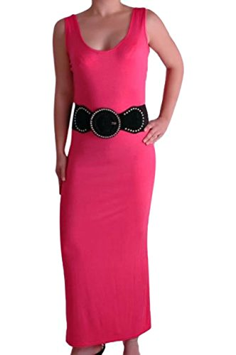 Eye Catch - Robe -  Femme Rose Corail Fuschia
