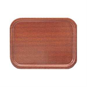 Olympia P248Mahagoni Furnier Tablett