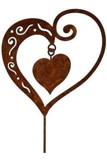Von Haus der Herzen/® Holztafel Lasergravur Holz-H/änger Dekoration Liebe