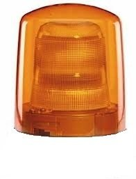 Hella 9EL 862 140-031 cristal difusor de luz giratoria de emergencia