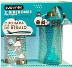 SUAVINEX - Pack 2 Biberones 270 ml y 360 ml