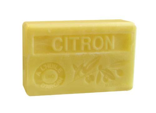 Bio-Arganöl Seife Citron (Zitrone) - 100g - Zitrus Duftende Seife