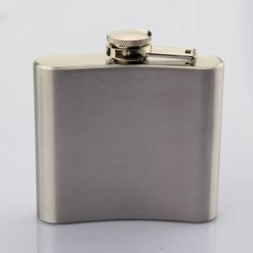 Edelstahl-Taschen-Whisky-Alkohol 5 OZ-Hüfte-Flasche mit Trichter