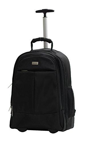 Bolsa con Ruedas para Portatil Marqua Alistair Airo – 17 Pulgadas – Ultra Ligero – Color Negro