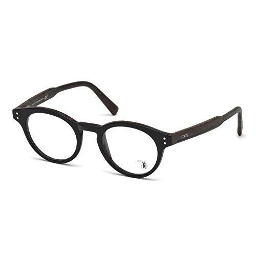 Tod's to5168, occhiali da sole unisex-adulto, nero, 47.0