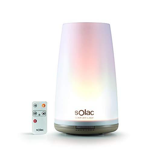 Solac HU1065 Comfort-Lamp Humidificador Ultrasónico y Lámpara Multicolor