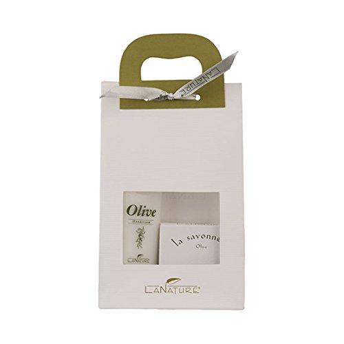 Hautpflege-kräuter-seifen (La Nature: Olive Reiseset Hand Cream + Seife)