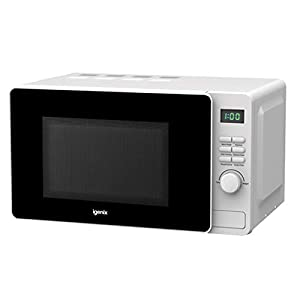 Igenix IG2082 Solo Digital Microwave, 5 Power Levels and Defrost Function, 60 Minute Timer, 800 W, 20 Litre, White