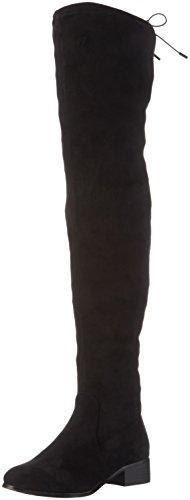 Bullboxer 025502f7t, Bottes hautes femme Noir - Schwarz (BLCK)