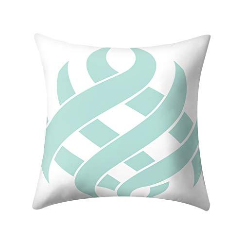 Kissenbezüge 45x45cm Kissenhüllen in Segeltuch mit Geometrischen Mustern für Sofa Auto Terrasse Zierkissenbezüge Wurfkissenbezug Zierkissenbezüge By Vovotrade -