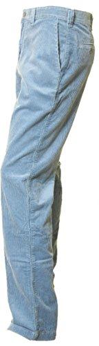 Pantalon DOCKERS en grosse cotes de velours - 100% coton - Bleu ciel Bleu marine Bleu