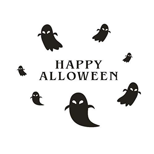 Happy Halloween wandaufkleber fenster dekoration DIY dekoration dekoration schwarz wandaufkleber 55 * 46 CM