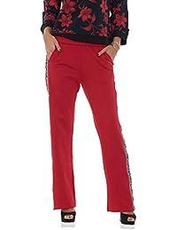 Liu Jo Sport Pantaloni in Felpa Donna con Bande Laterali - Rossi 5422105d1c9