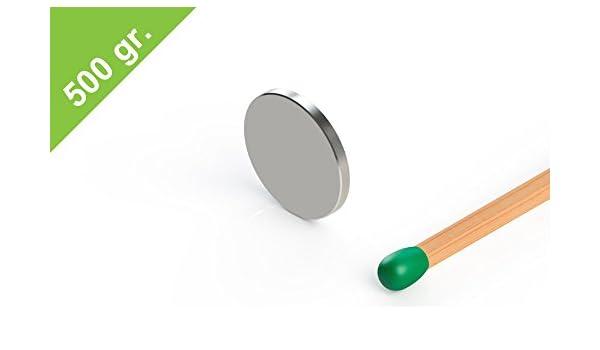 Grade N35 extrem flacher Magnet vernickelt Neodym Scheibenmagnet 10x1mm