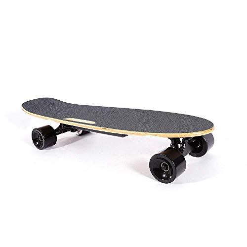 Elektrisches Skateboard Longboard Skate 20km / H 350W Streetboard Cruiser Maple Remote Control Motor Einzigartiges Geschenk