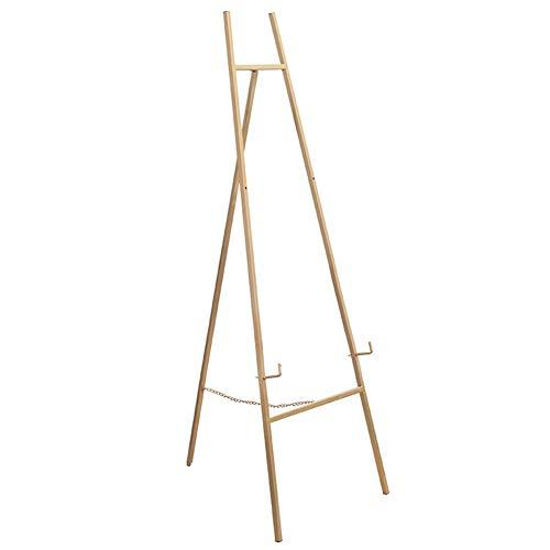 Staffelei Gold Metall, Faltbare Kunst Malerei Display Stand, Stativ Sketchpad Inhaber Outdoor Skizzieren, Hochzeit (Size : 43×40×118cm)