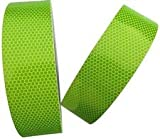 #4: Bapna Green Florocent Reflective Adhesive Tape 25mm Width x 25 Meter Length