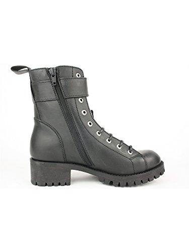 Tornozelo Nero Mulher Botas Ankle E Boots Senhoras AZnqz6n5
