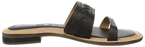 Marc Shoes Mimi Damen Pantoletten Schwarz (black 100)