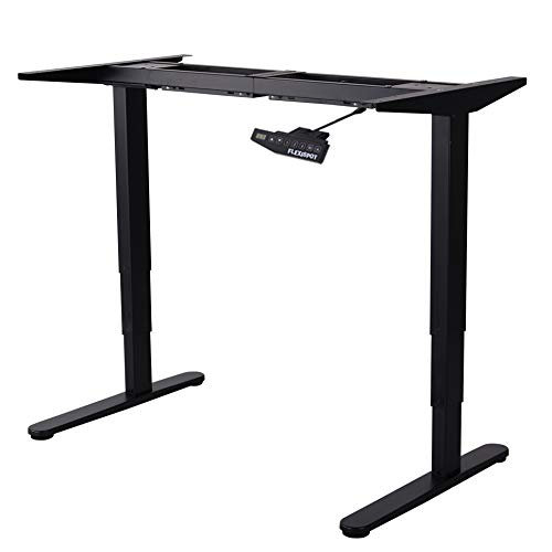 Flexispot E5B Höhenverstellbarer Schreibtisch Elektrisch höhenverstellbares Tischgestell,...