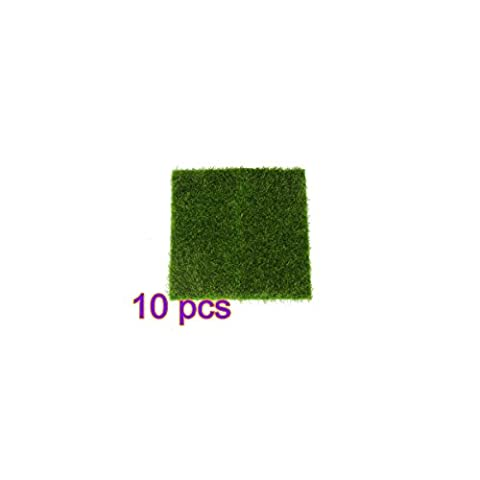 Artificial Turf Lawn Grass Fake Moss Miniature Fairy Emulation Lawn Home Decoration Outdoor Decor Miniature Dollhouse Landscaping