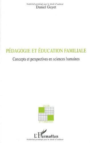 Pédagogie et éducation familiale