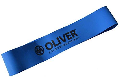 OLIVER Rubber-O blau extra stark 27,5x5x0,1cm Rubberband Fitness Training