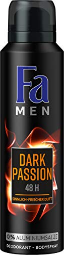 Fa Men Dark Passion Sensual Fresh Deospray, 6er Pack (6 x 150 ml)
