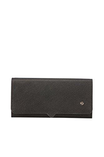 SAMSONITE Miss Journey SLG - Wallet for 14 Creditcards Kreditkartenhülle, 0 Liter, Black