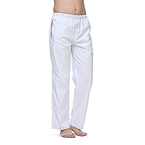 Janeo Men's Pyjamas - Bas de pyjama - Homme - bleu - Large
