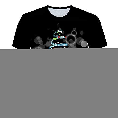 NSDX Herren 3D T-Shirt SommerMänner/Frauen 3D T Shirts Drucken Trippy Psychedelic Whirlpool Bunte Grafik T-Shirt Hip Hop Tops Freizeitkleidung
