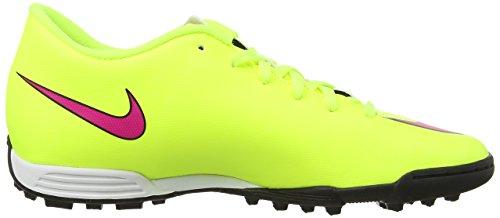 Nike Mercurial Vortex Ii Tf, Chaussures de Football Compétition homme Jaune - Yellow (Volt/Hyper Pink/Black 760)