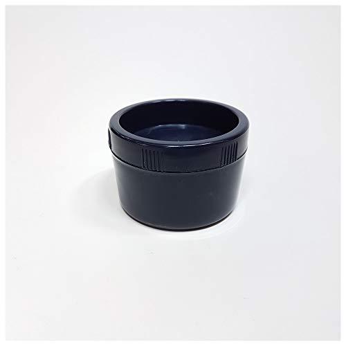 Dönges Kunststoffdose mit Deckel, 100 ml, blau