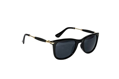 Peter Jones Wayfarer Unisex Sunglasses(Ap7|48|Black)