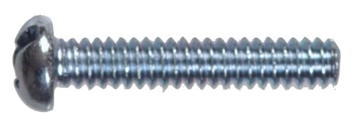100-Pack The Hillman Group 90197 8-32-Inch x 1-1//2-Inch Round Head Combo Machine Screw