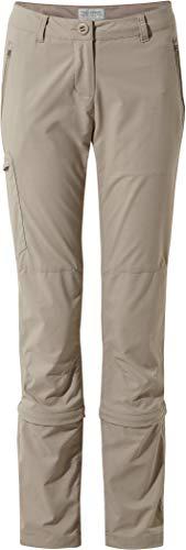 Craghoppers NosiLife Pro II Capri Convertible Pants Damen Mushroom Größe UK 14   L 2019 Hose (14 Capris-größe)