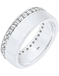 DKNY Damen-Ring Edelstahl Glas  NJ1970040