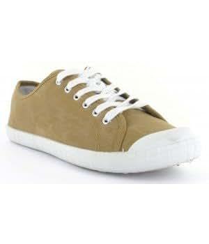 Chaussure Bas Prix - Basket-Tennis imitation cuir - Camel - M109A-8-40