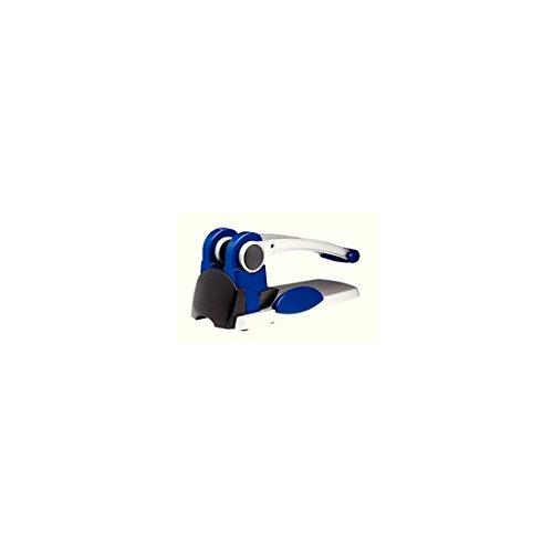 Rexel Registraturlocher HD2300X, blau silber schwarz