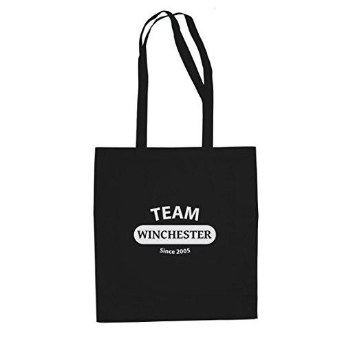 (Planet Nerd Team Winchester - Stofftasche/Beutel, Farbe: schwarz)