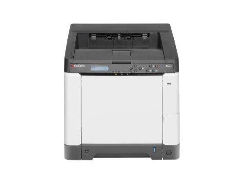 Kyocera ECOSYS P6021cdn Farblaserdrucker (Drucken, 9.600 dpi, USB 2.0, Duplex) grau/weiß -