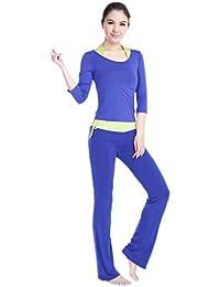 Y-BOA 1PC Lot de 3 Ensemble Yoga Vêtement Femme Running Sport Gym Fitness