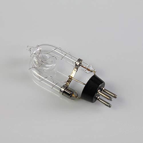 showking Set aus 2 x Stroboskoplampe 230V / 75W / 3-pin Sockel/Doppelwendel / 8000K - Ersatzlampe für Power Strobe 500