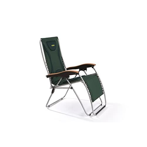 Outback Padded Relaxer Extra Reclining Garden Camping Chair